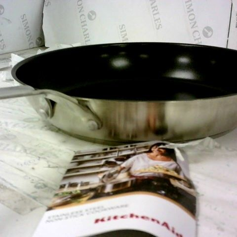 KITCHEN AID - STAINLESS STEEL NON-STICK COOKWARE