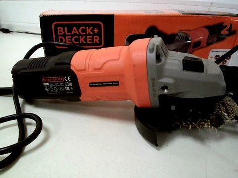 BLACK+DECKER 710 W GRINDER POWER TOOL