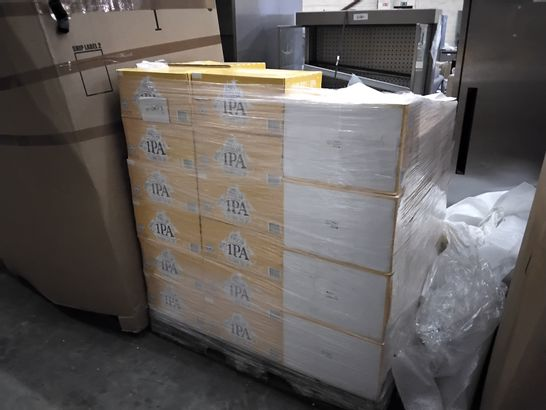 PALLET OF APPROXIMATELY 60 BOXES OF BRUTAL BREWING A SHIP FULL OF IPA ALCOHOL FREE BEER