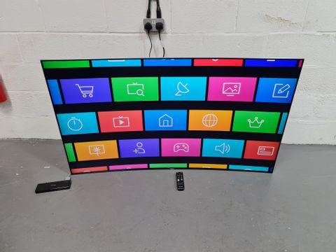 SAMSUNG UE65KS9500 65 INCH CURVED 4K QUANTUM DOT ULTRA HD PREMIUM SMART LED TV