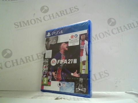 FIFA 21 PLAYSTATION 4 GAME