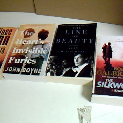 ASSORTMENT OF 27 NON FICTION BOOKS TO INCLUDE THE NUMBER ONE BEST SELLER THE SILKWORM, FAULT LINES AND AMERICAN GODDESS