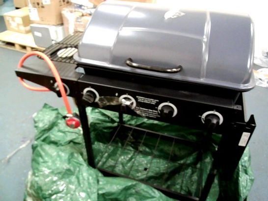 4-BURNER GAS BBQ WITH SIDE BURNER- COLLECTION ONLY RRP £169.99