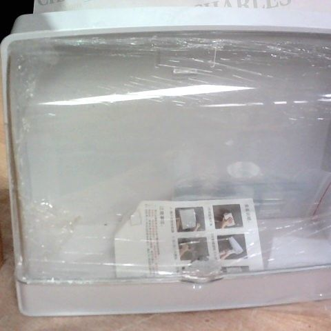 SMALL PERSPEX BATHROOM TYPE CABINET - FIX WITH ADHESIVE PADS