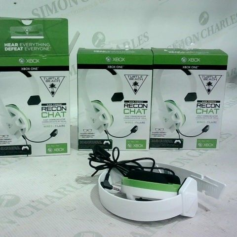 3 X TURTLE BEACH EARFORCE RECON WIRED HEADSET