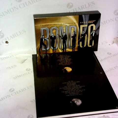 50 YEARS OF JAMES BOND MOVIE COLLECTION SET