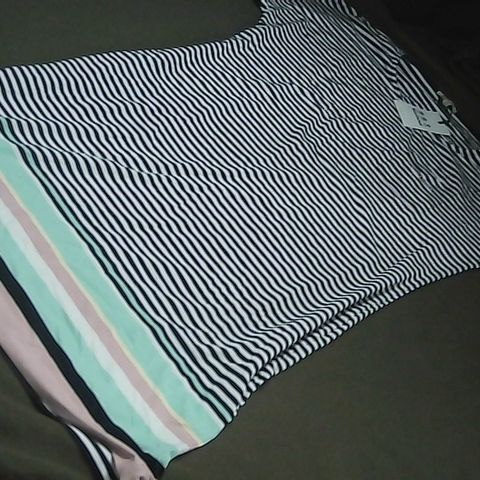 BARBOUR NAVY/WHITE STRIPED DRESS UK SIZE 14