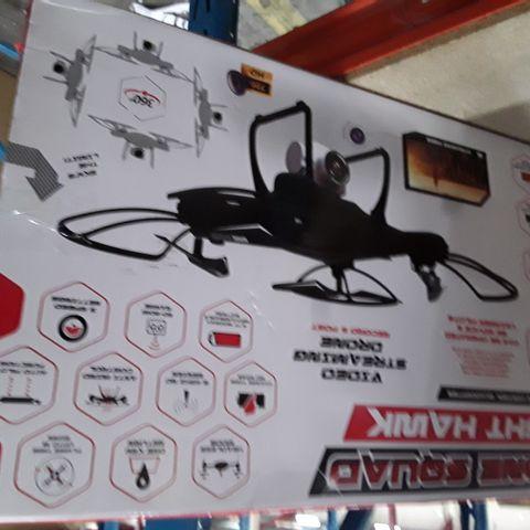 DRONE SQUAD WIFI CAMERA BLACK NIGHT HAWK QUADCOPTER