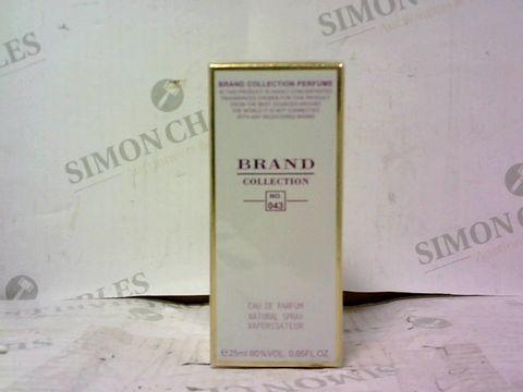 BOXED BRAND COLLECTION NO 043 EAU DE PARFUM 25ML