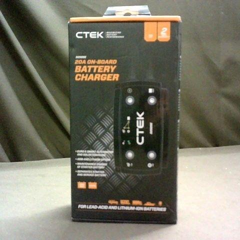 CTEK D20SE 20A ON-BOARD BATTERY CHARGER