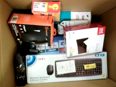 LOT OF APPROXIMATELY 20 ASSORTED ELECTRICAL ITEMS