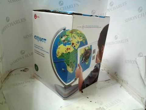 SHIFU - ORBOOT. INERACTIVE GLOBE POWERED BY AUGMENTED REALITY