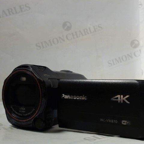 PANASONIC HC-VX870 VIDEOCAMERA