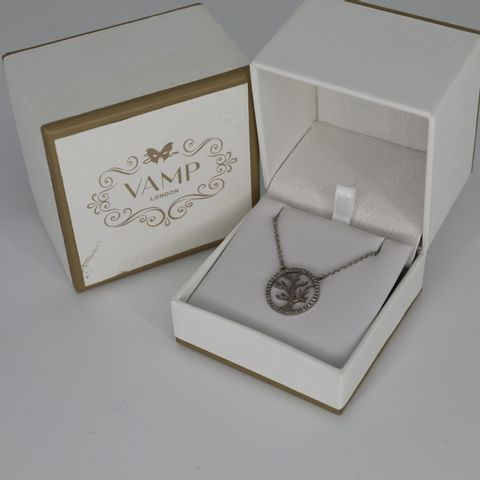 BRAND NEW BOXED VAMP TREE OF LIFE NECKLACE