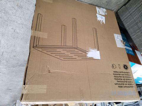 BOXED GOODHOME ALUMINIUM TABLE