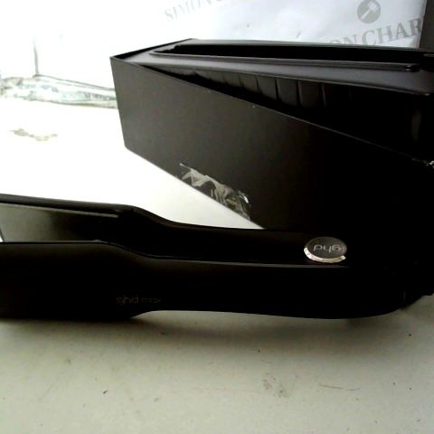 GHD NEW MAX STYLER PROFESSIONAL HAIR STRAIGHTENERS - BLACK