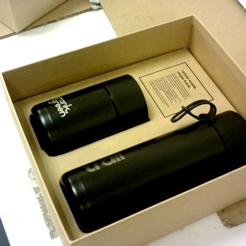 FRANK GREEN REUSABLE COFFEE CUP AND BOTTLE