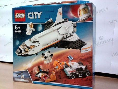 LEGO CITY MARS EXPLORATION 60226  5+