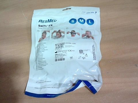 BAGGED SEALED RESMED SWIFT FX NASAL PILLOW SYSTEM