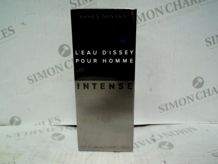 ISSEY MIYAKE L'EAU D'ISSEY POUR HOMME INTENSE EDT - 75ML - BRAND NEW SEALED