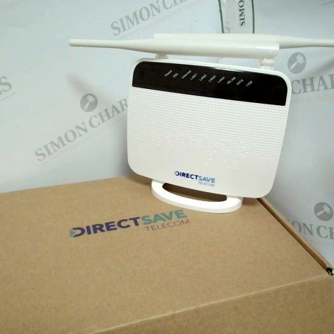 DIRECT SAVE TELECOM RTLQ3 DSL WIRELESS ROUTER