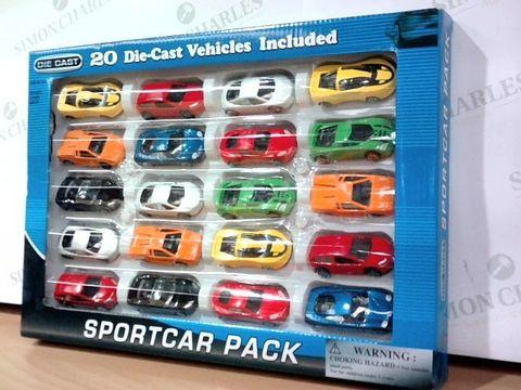 DIE CAST SPORT CAR PACK  3+