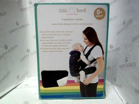 LITTLE BIRD 4 POSITION BABY CARRIER