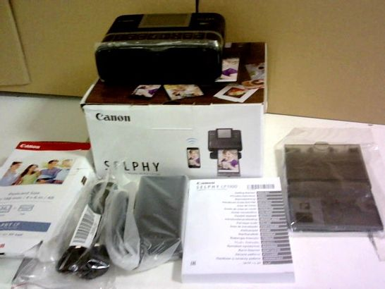 SELPHY CP1300 COMPACT WIFI PHOTO PRINTER RRP £179.99