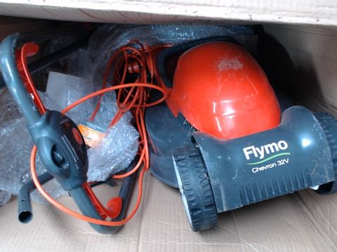 FLYMO CHEVRON 32V ELECTRIC LAWNMOWER