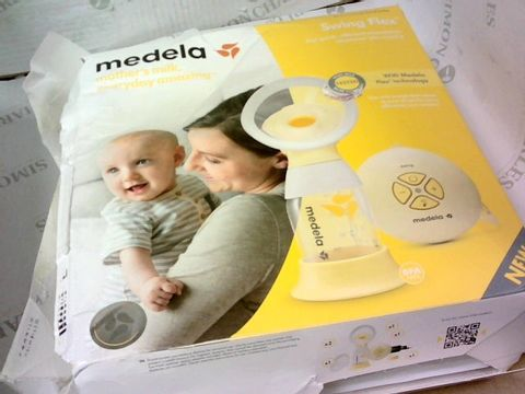 MEDELA, SWING FLEX FOR QUICK EFFICIENT EXPRESSION WHENEVER YOU NEED IT