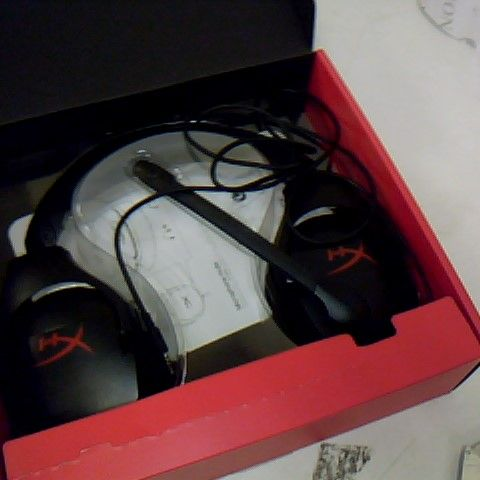 BOXED HYPER X CLOUD STINGER GAMING HEADSET