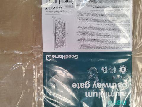 NEVA ALUMINIUM PATHWAY GATE 171.5 × 93 × 3.3cm