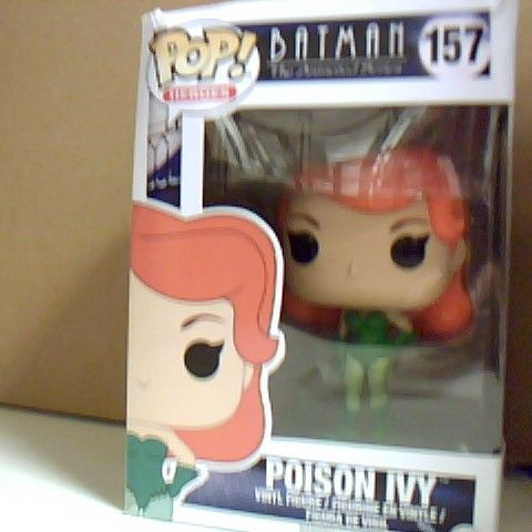 BOXED POP! HEROS BATMAN THE ANIMATED SERIES POISON IVY VINYL FIGURE 157