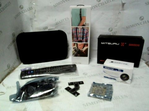 LOT OF A LARGE QUANTITY OF ASSORTED ELECTRICAL ITEMS, TO INCLUDE ROUTER, AC ADAPTER, WEBCAM, ETC