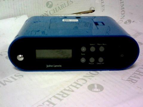 JOHN LEWIS NOTE DAB RADIO BLUE