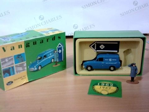 VANGUARDS LIMITED EDITION FORD ANGLIA VAN RAC SET SCALE 1:43