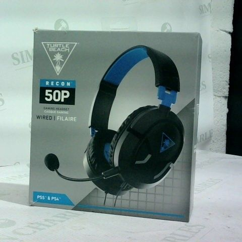 TURTLE BEACH RECON 50P HEADSET FOR PLAYSTATION