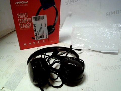 MPOW WIRED COMPUTER HEADSET