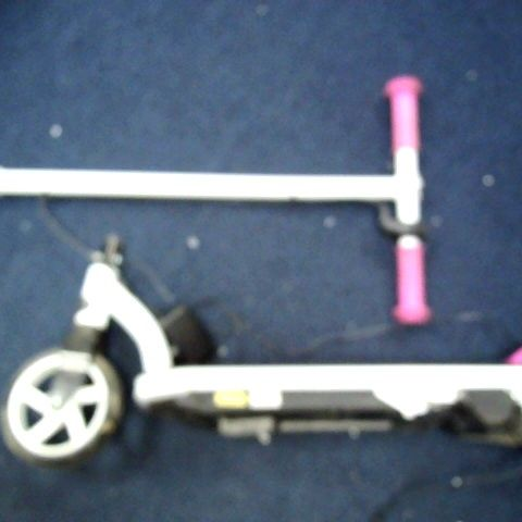 EVO 6V ELECTRIC SCOOTER - WHITE/PINK
