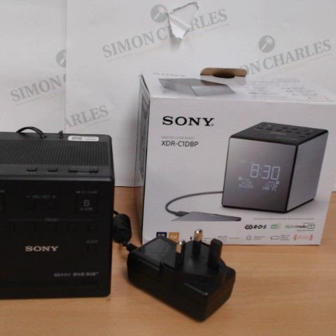 SONY DAB/FM CLOCK RADIIO - XDR-C1DBP