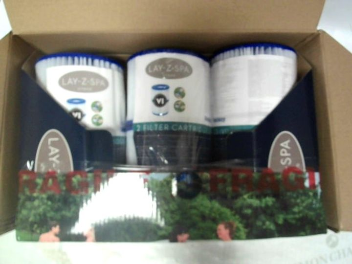 LAY-Z-SPA FILTER CARTRIDGES 6PC