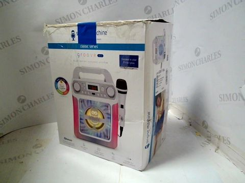 SINGING MACHINE SML650W BLUETOOTH KARAOKE MACHINE