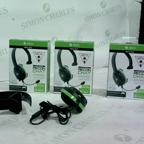 3 X TURTLE BEACH EARFORCE RECON CHAT HEADSET
