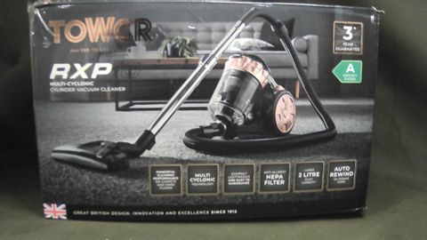 TOWER RXP-10 MULTI CYCLONIC CYLINDER VACUUM CLEANER