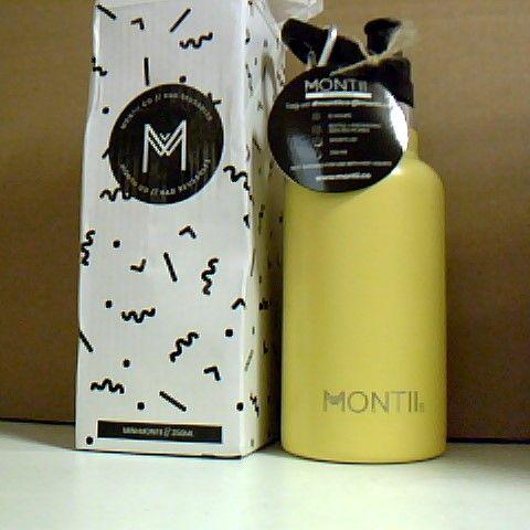MONTII REUSABLE BOTTLE YELLOW 350ML