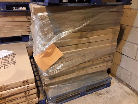 PALLET OF 15 BRAND NEW BOXED GEORGE HOME RAFFERTY SINGLE BED PARTS- BOX 1 OF 2 ONLY