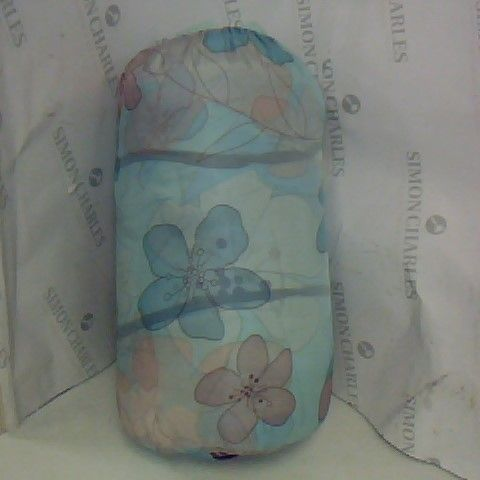 FLORAL PRINT SLEEPING BAG IN GREEN - SIZE UNSPECIFIED