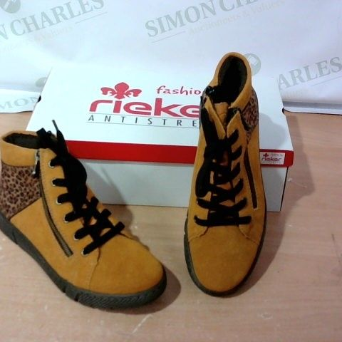 BOXED PAIR OF RIEKER  - SIZE 39