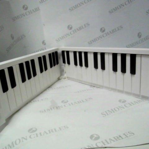 CARRY-ON FOLDING PIANO BY BLACKSTAR 49 KEYS