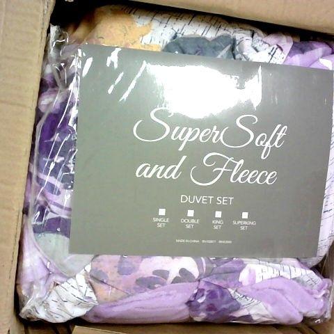 SUPER SOFT FLEECE DUVET - KING SIZE